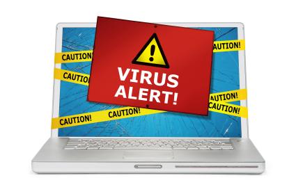 virus zoeken